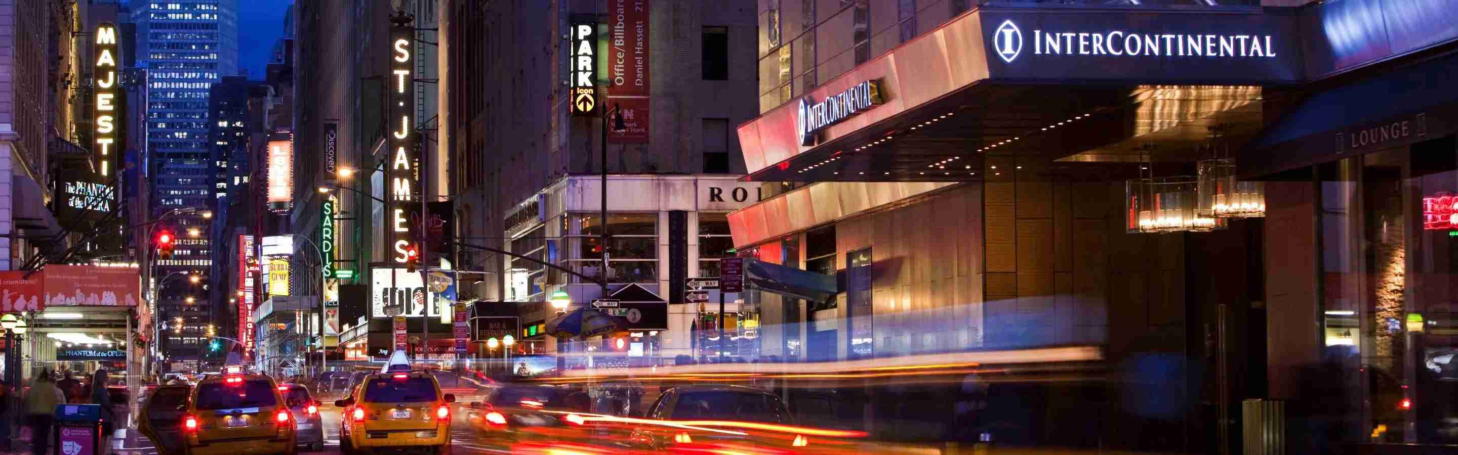 InterContinental New York Times Square exterior