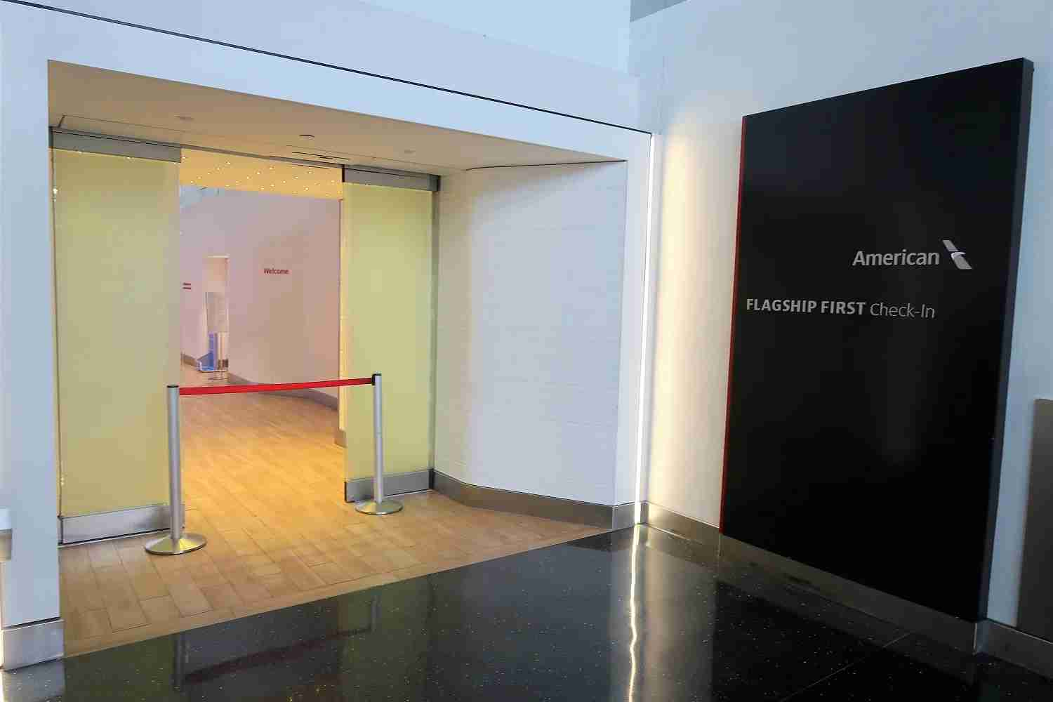 Photo of the New York JFK Flagship First Check-In by JT Genter / TPG.
