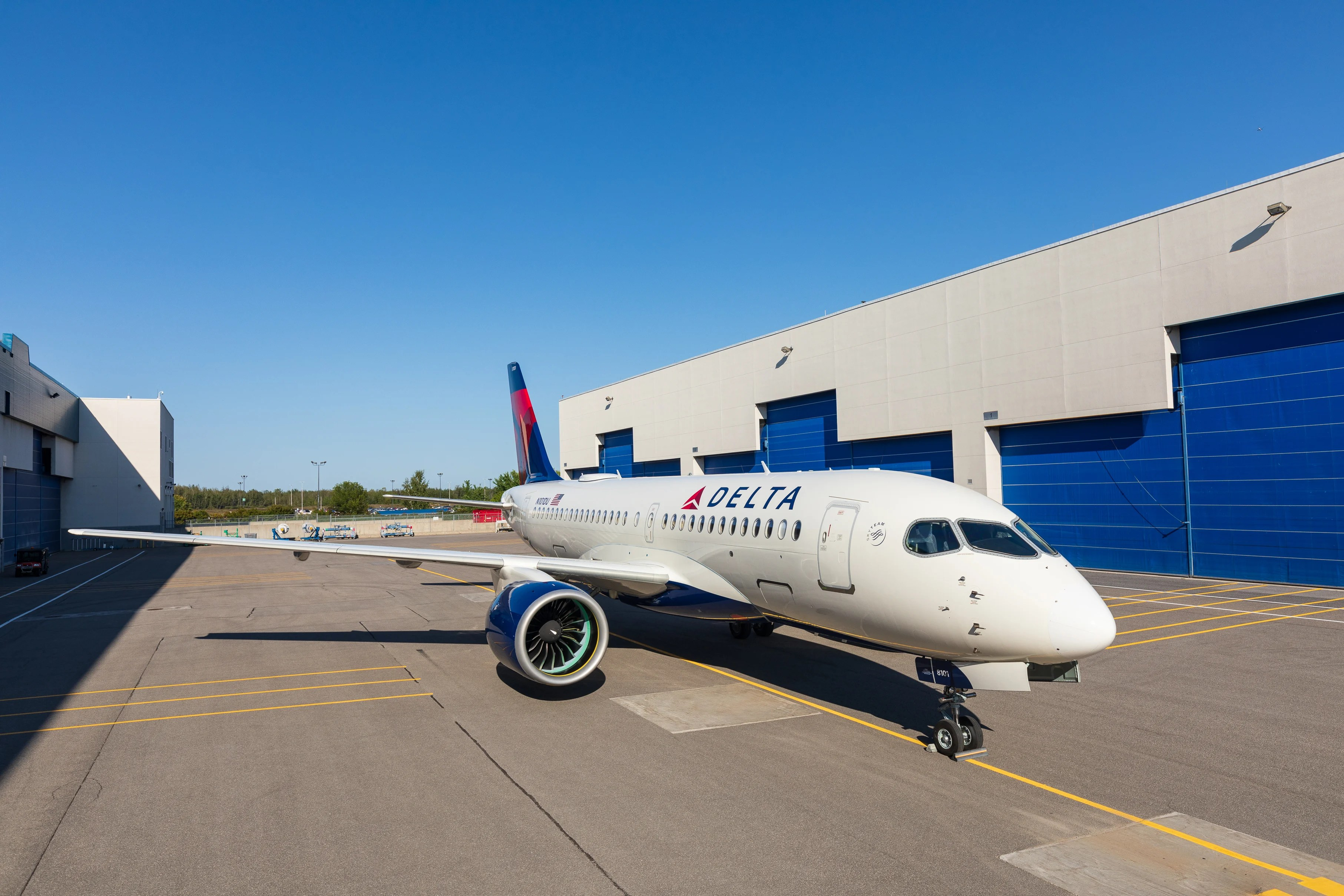 Here S Our Look At Delta S First Airbus A220 100