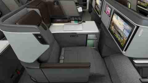 Eva air 787 business