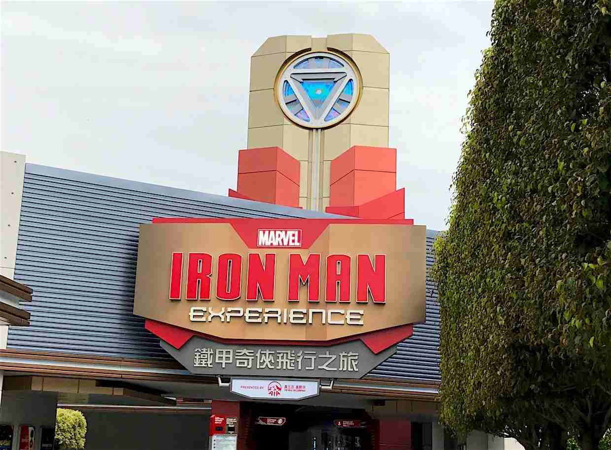 Iron Man Experience in Disney Hong Kong. (Photo by By Ngchikit/Wikimedia Commons)