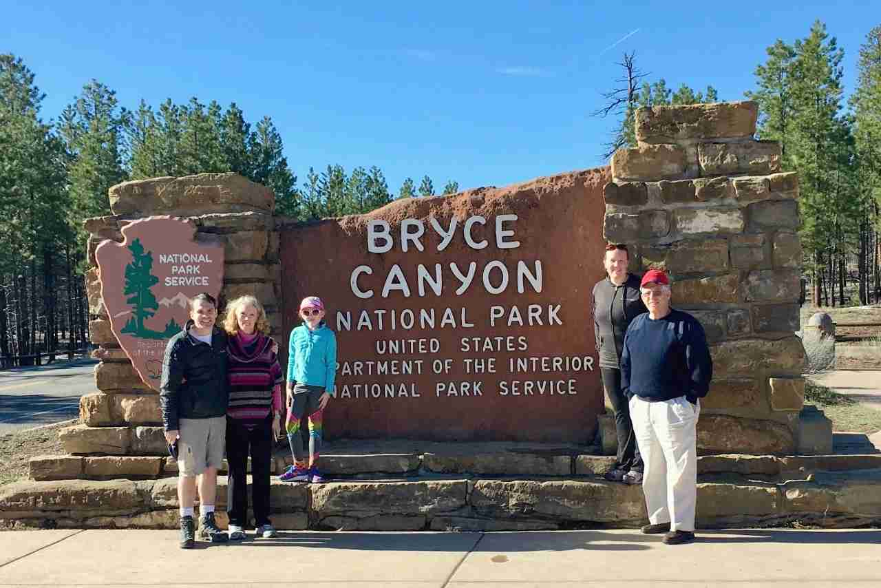 A multigenerational national park adventure at Bryce Canyon National Park.Image by Leslie Harvey.