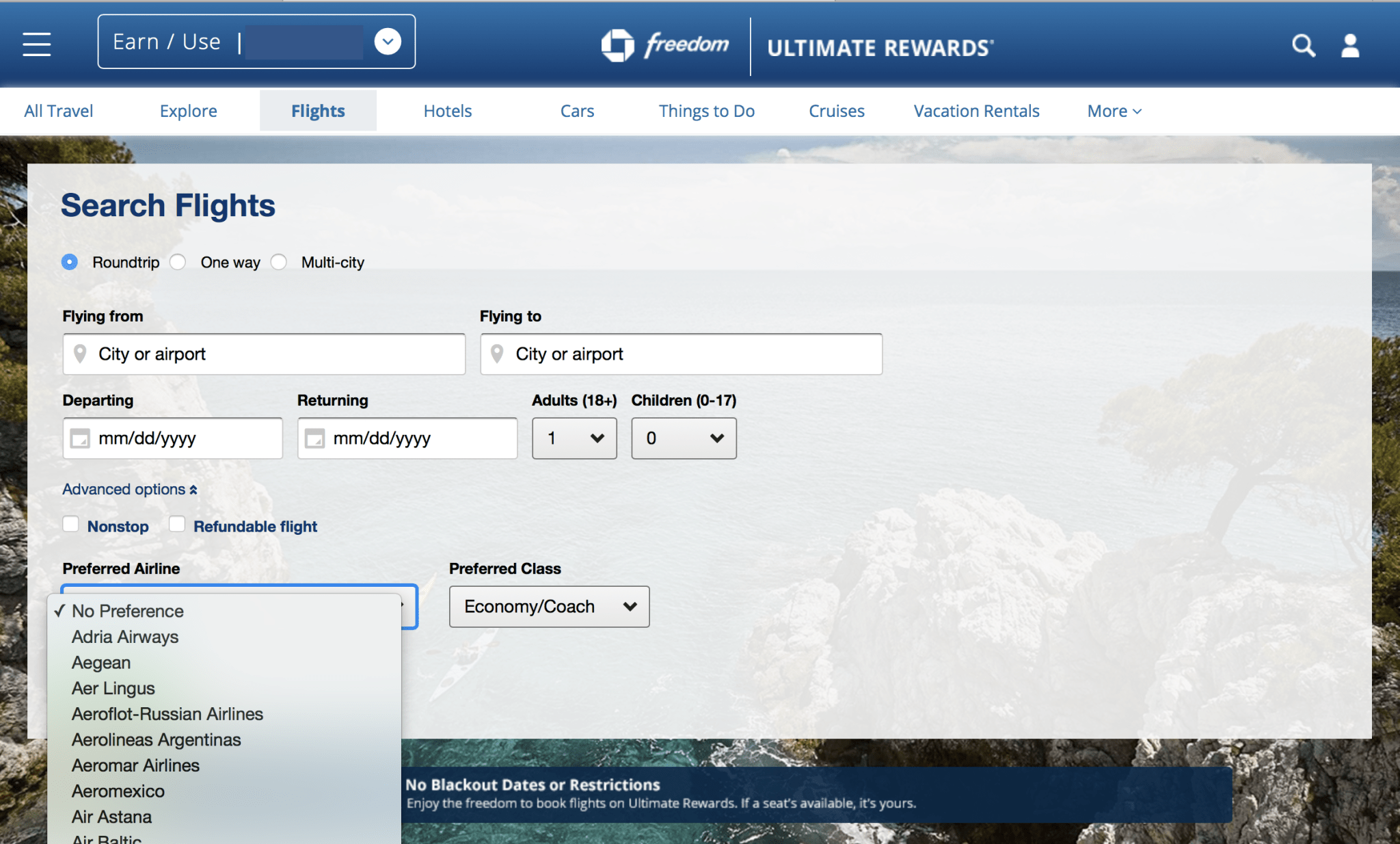 Chase Rolls Out New Travel Booking Site Beginning Today