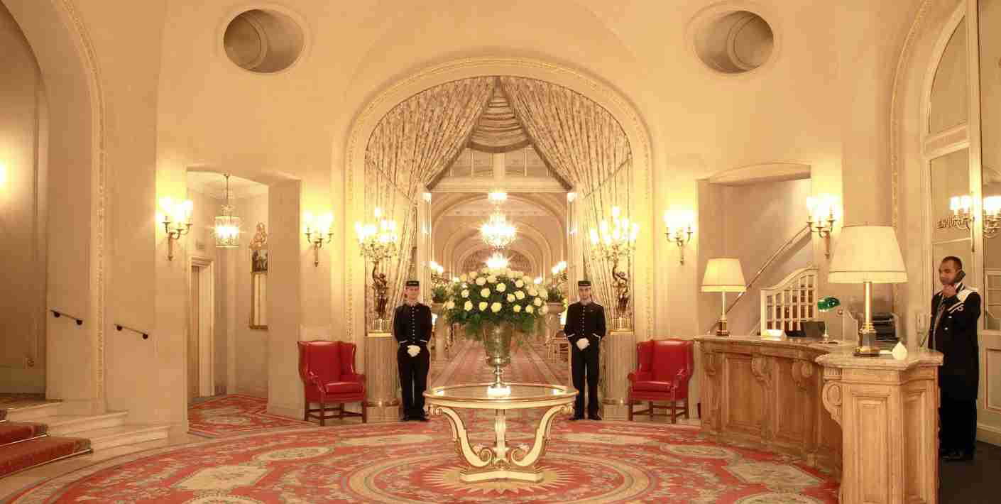 The Ritz London is part of Leading Hotels of the World.