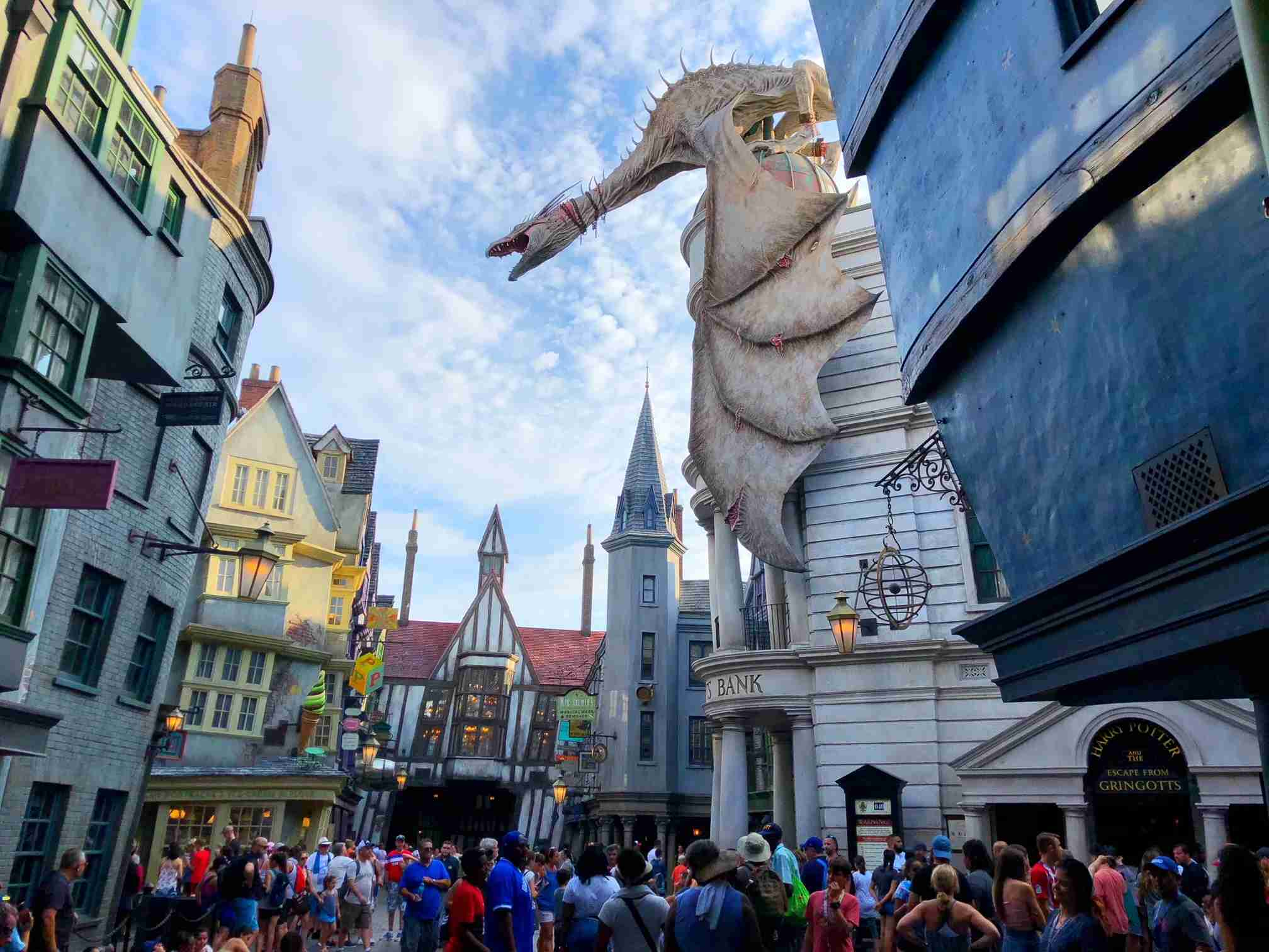 The Wizarding World of Harry Potter at Universal Orlando. (Photo by TPG)