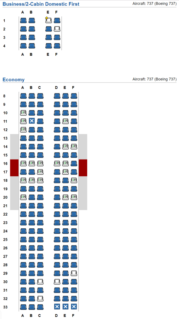 How to Tell If You\'re Going to Be Stuck on a Cramped AA Boeing 737