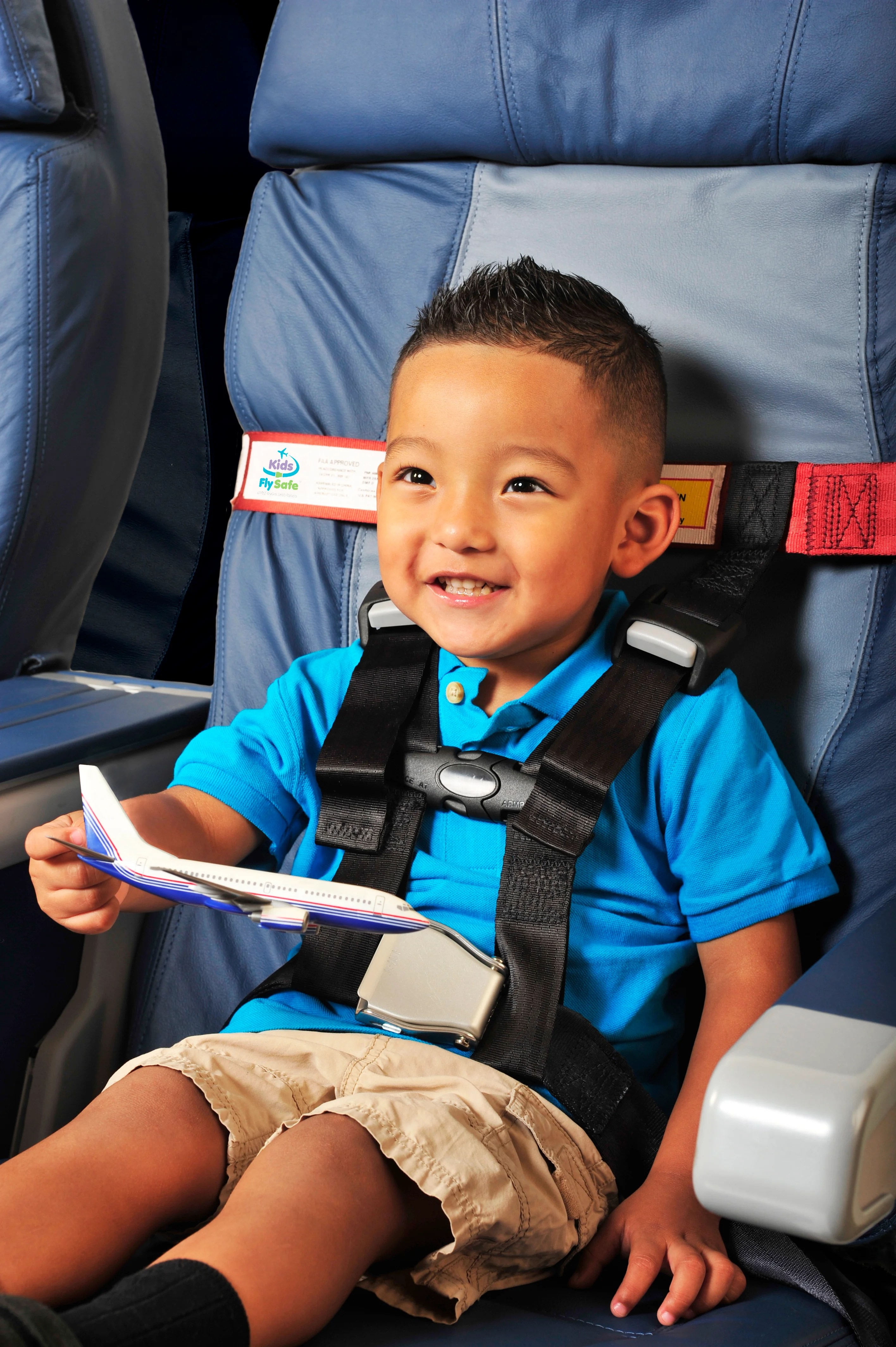 """Child Safety Harness Airplane Travel Clip Strap System Approved By FAA For /"""" USA"""