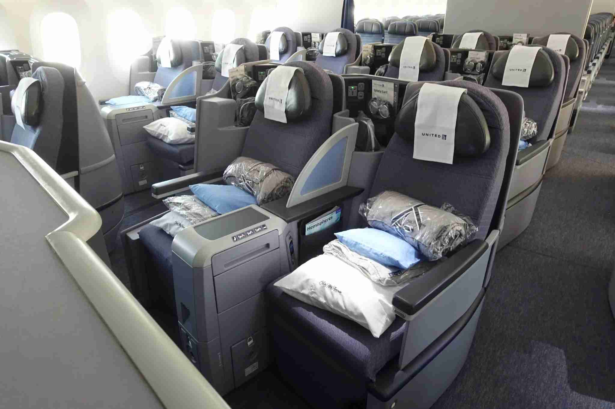 United 787-8 Business Class (Photo by Zach Honig / TPG)