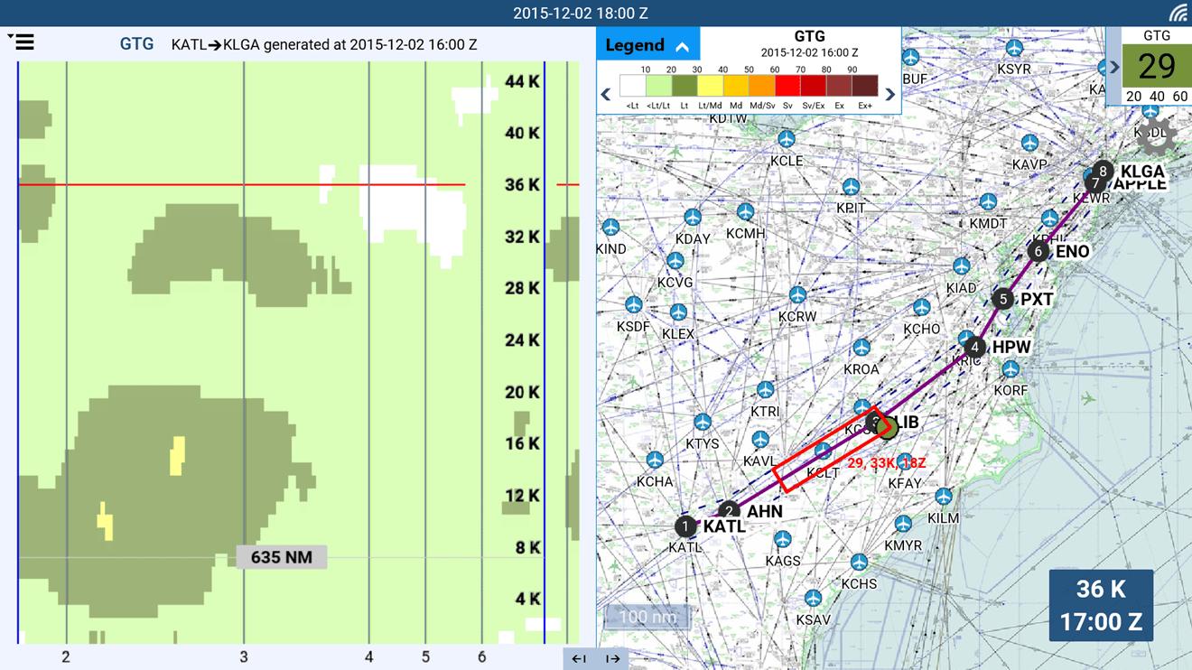 Delta Flight Weather Viewer