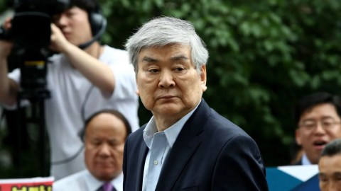 Korean Air Chairman Indicted on Embezzlement Charges