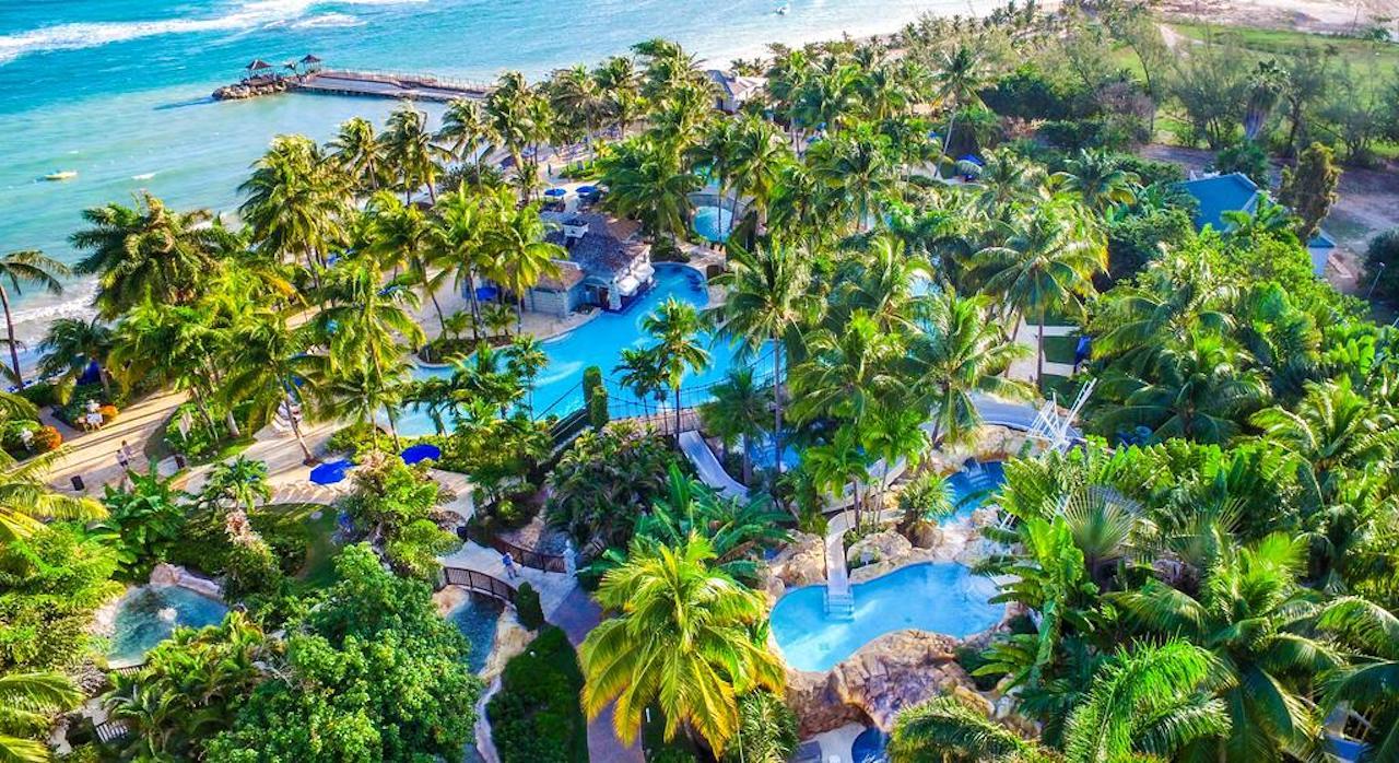 Hilton Rose Hall Resort & Spa waterpark. Photo courtesy of Hilton Hotels.