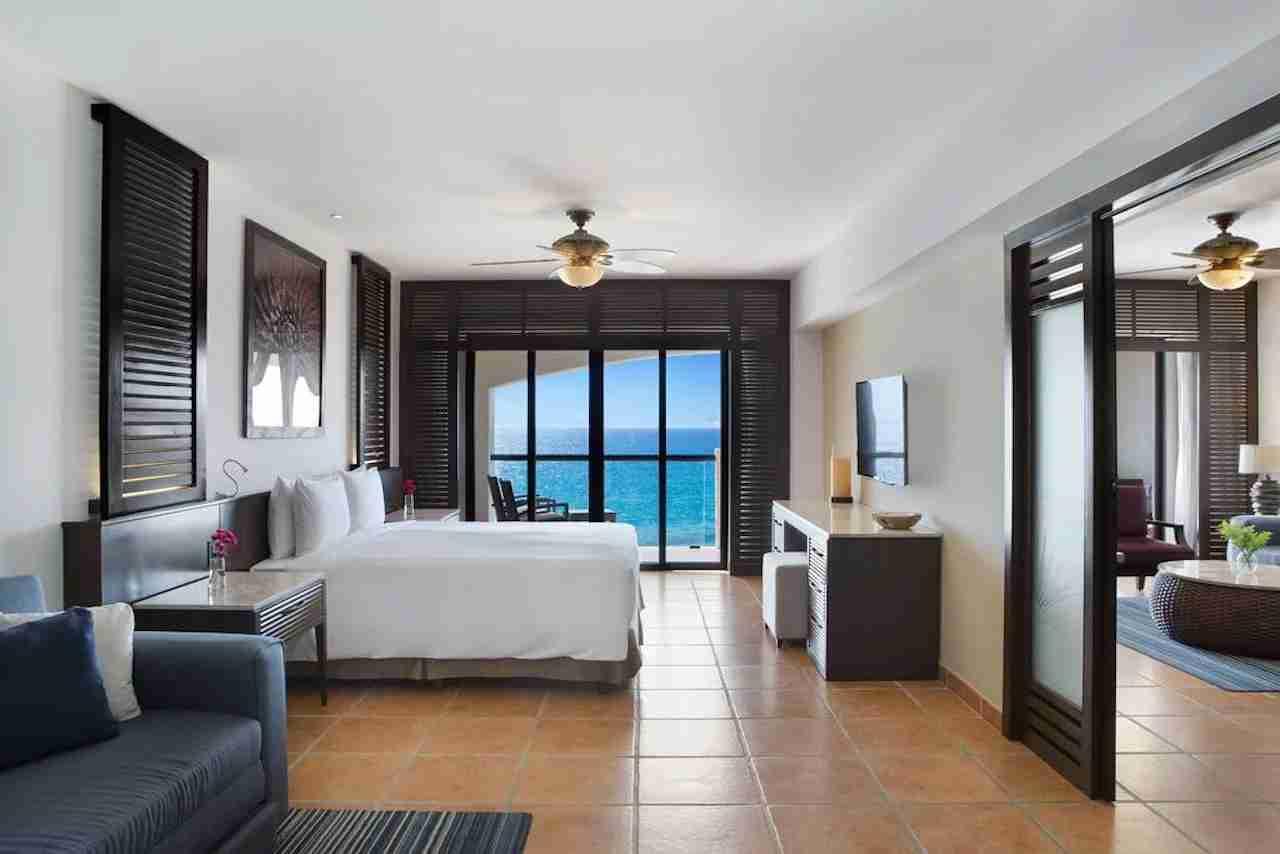 Hyatt Ziva Los Cabos room. Photo courtesy of Hyatt Hotels.