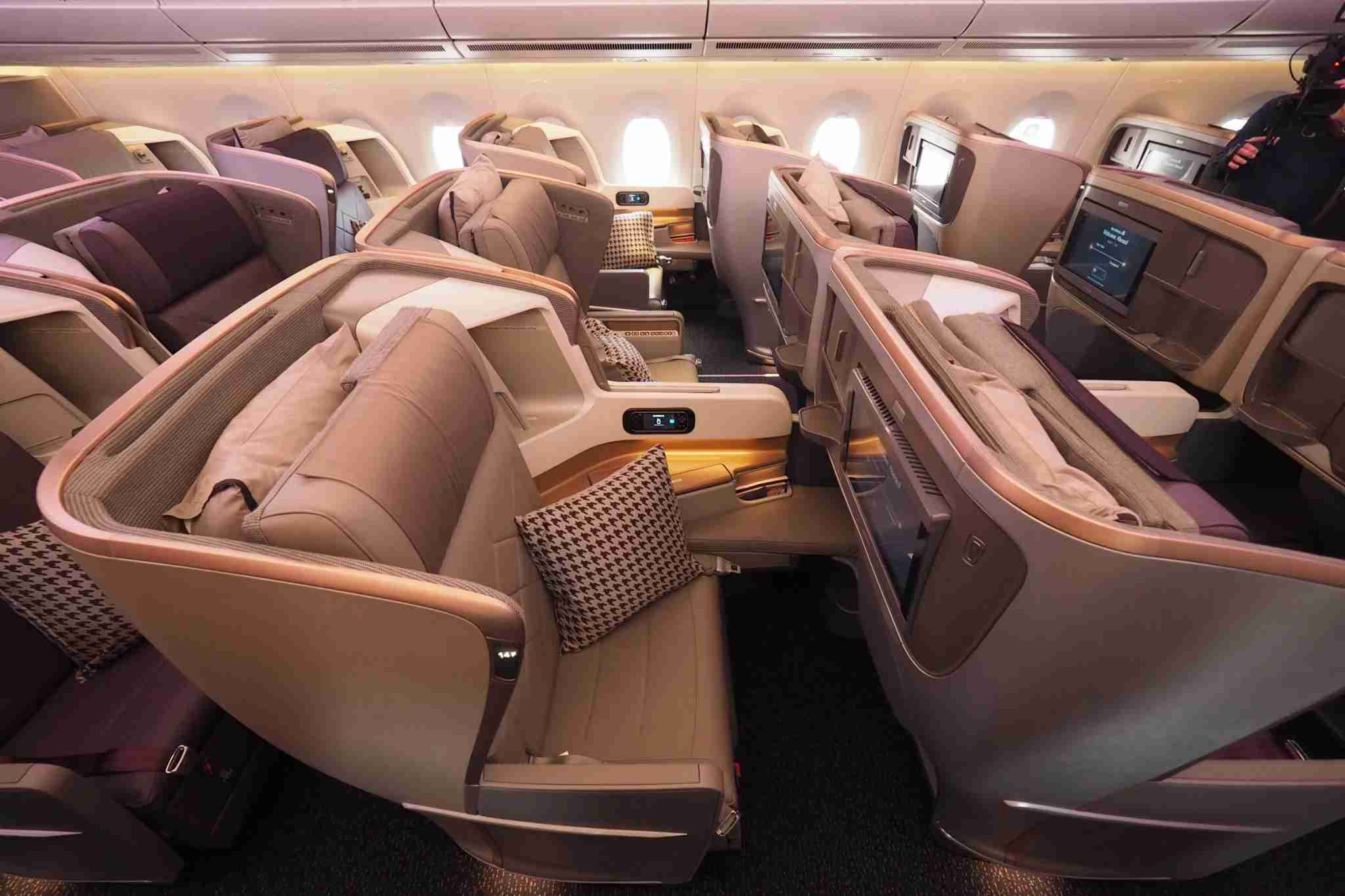 Cash in your Citi ThankYou points for a business class seat on Singapore Airlines and get a 10% rebate