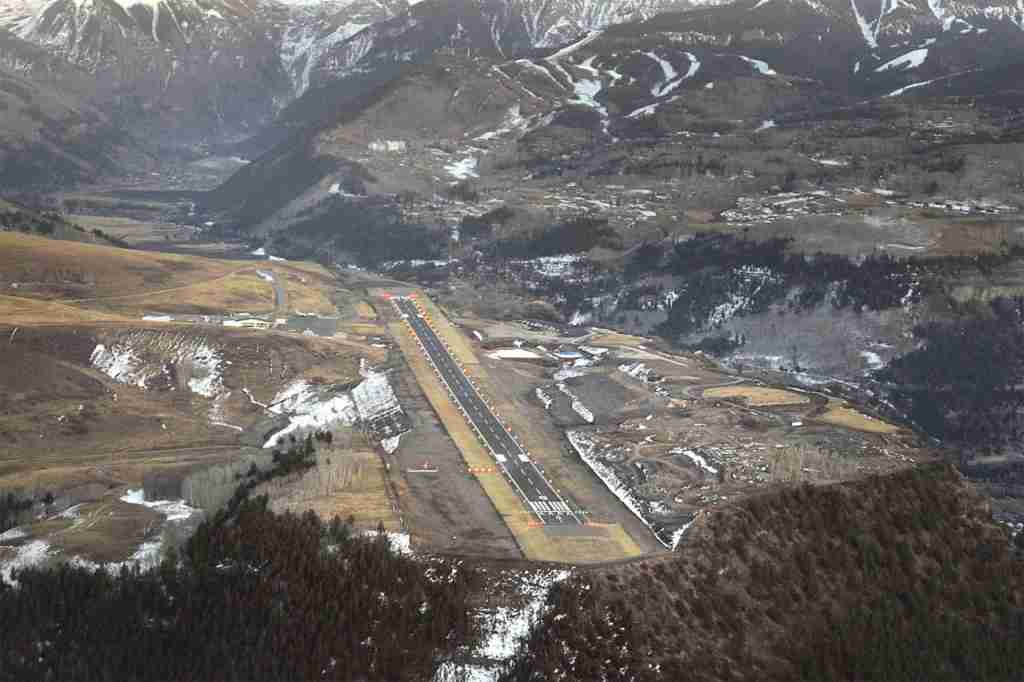 Telluride Tex Airport. Photo courtesy of Telluride Tex Airport.