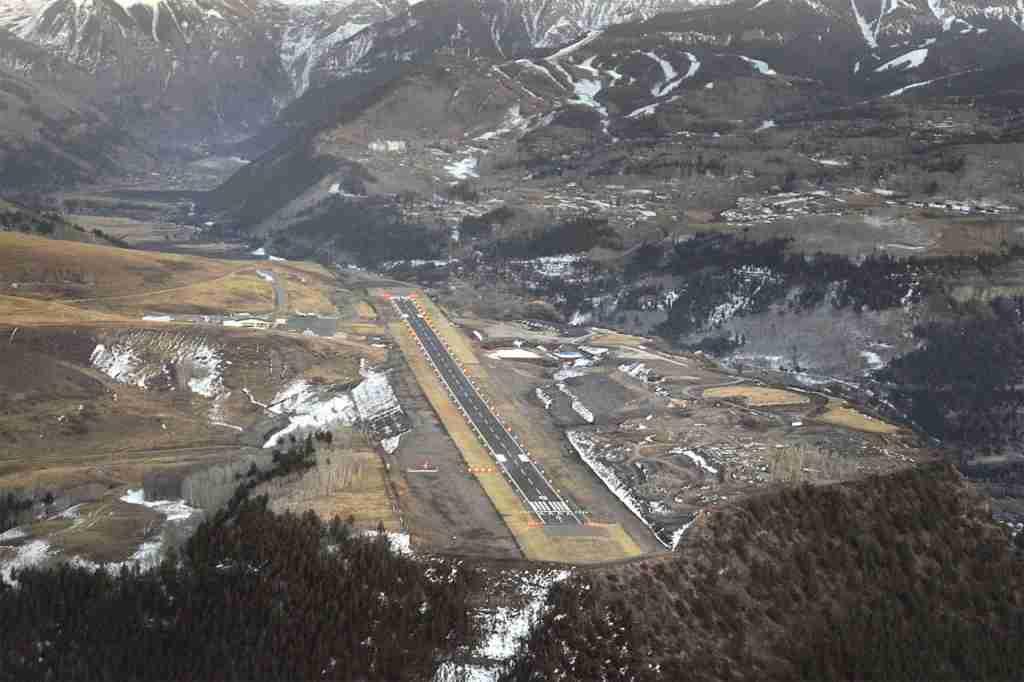 Telluride Tex Airport. Photo courtesy of Telluride Tex Airport.
