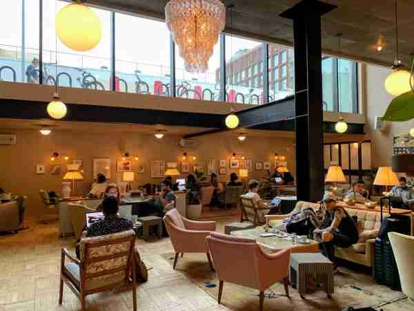 The Hoxton Williamsburg lobby side - Looking back: 10 years of change in the hotel industry