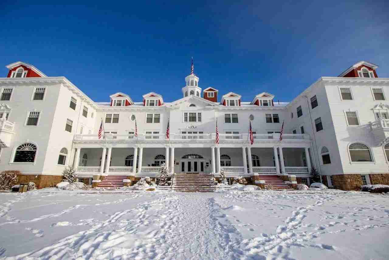 The Stanley Hotel, Estes Park, Colorado. Photo courtesy of the Stanley Hotel.