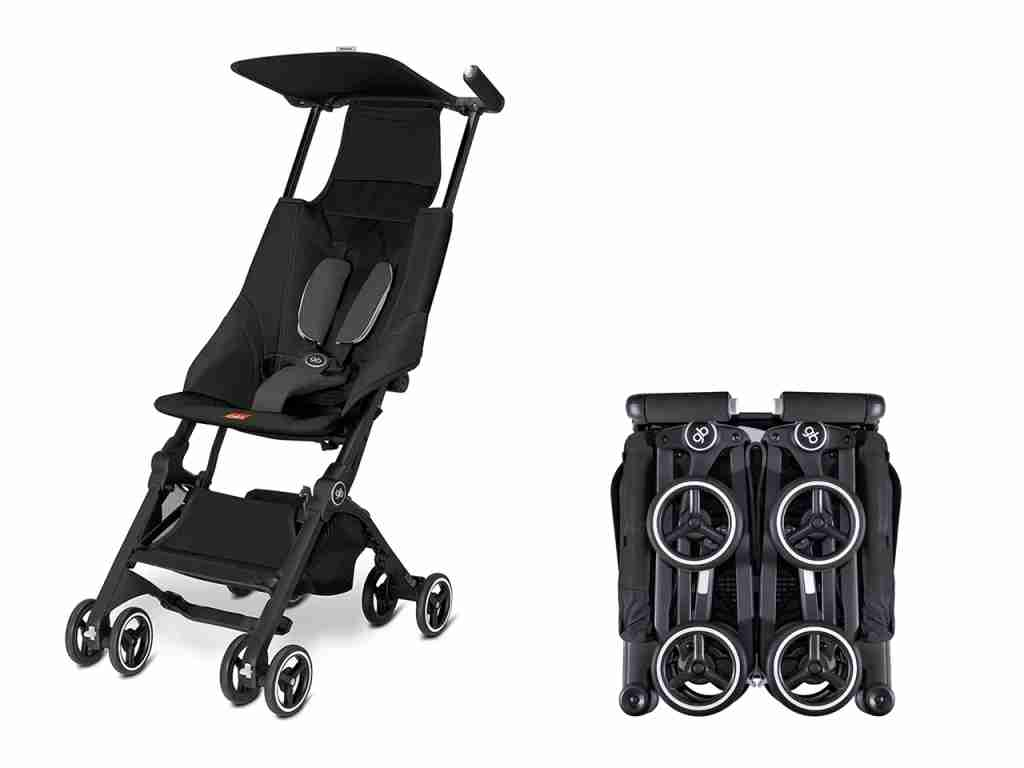 The GBPockit Compact Stroller. (Product images via gbchildusa.com)