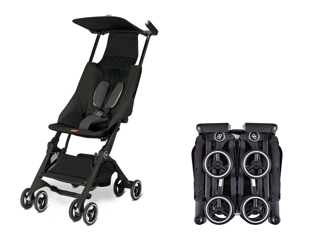 The GBPockit Compact Stroller Product Images Via Gbchildusa