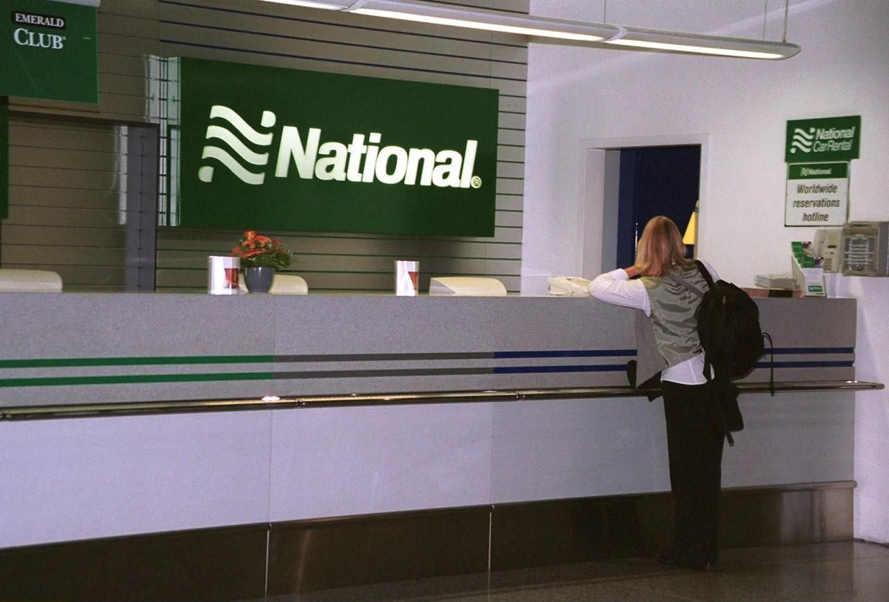 national car rental airport phone listing