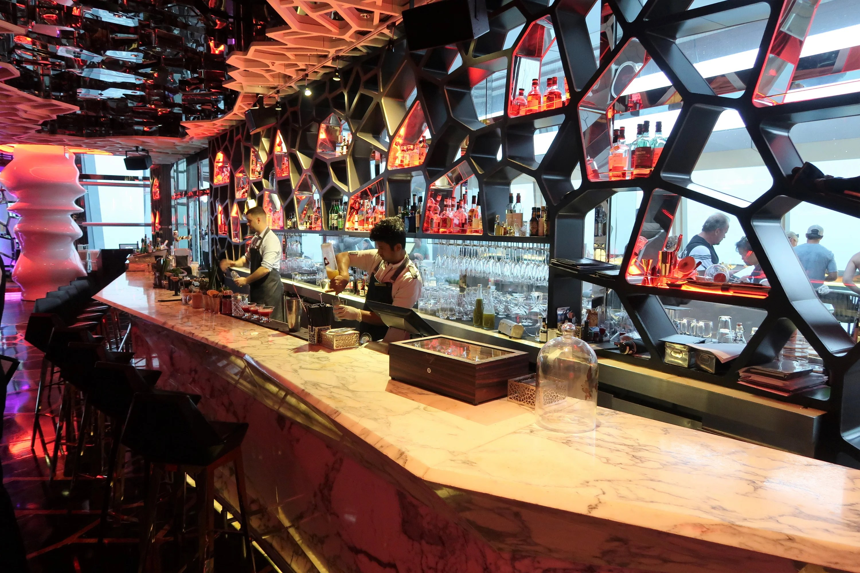 How to Have a Drink at 1,588 Feet in the Highest Hotel Bar on Earth