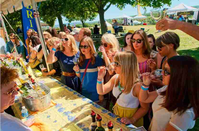 The Virginia Wine Festival takes place just outside DC. Photo courtesy of Virginia Wine Festival.