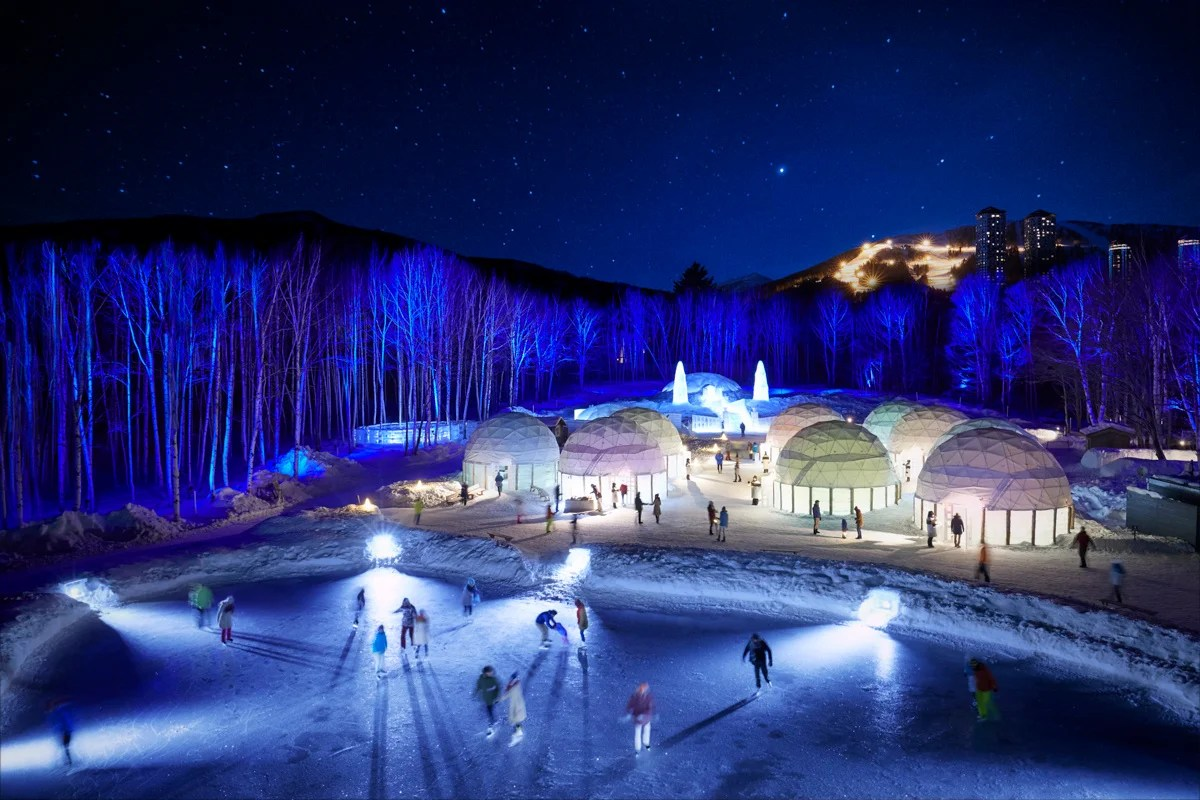 This Village Made Entirely of Ice Is the Ultimate Winter Wonderland