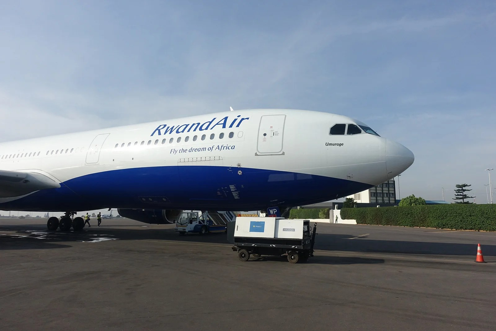Review: RwandAir (A330) in Business From Kigali to London
