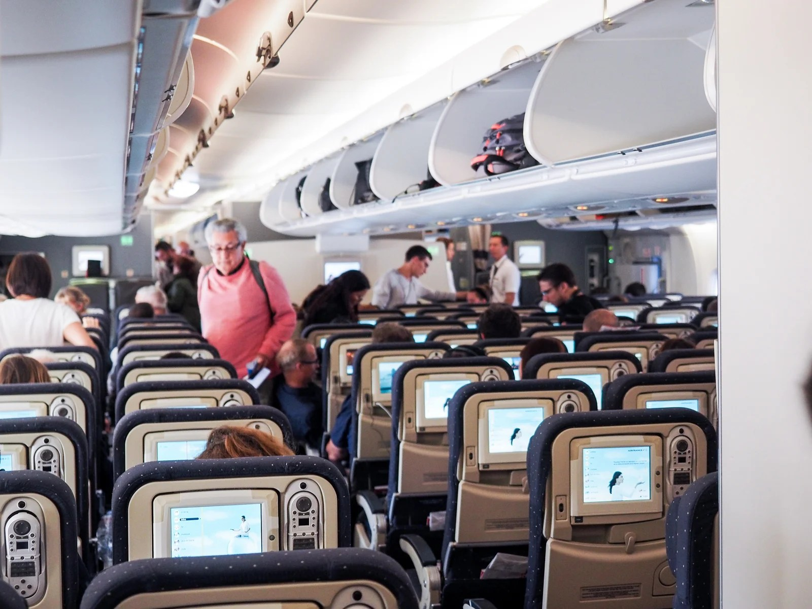 Review Air France A380 In Economy From Paris To New York