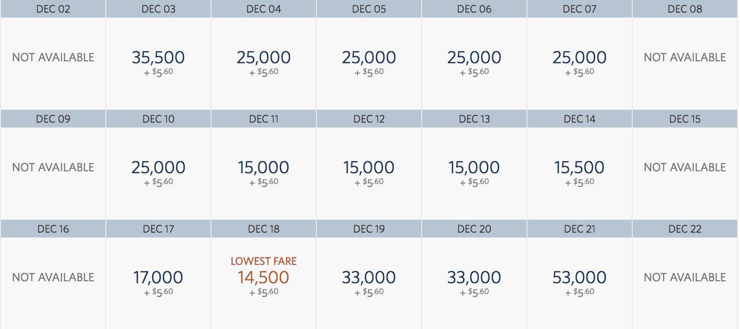 A glimpse at SkyMiles pricing for the few remaining JFK-SNA nonstops