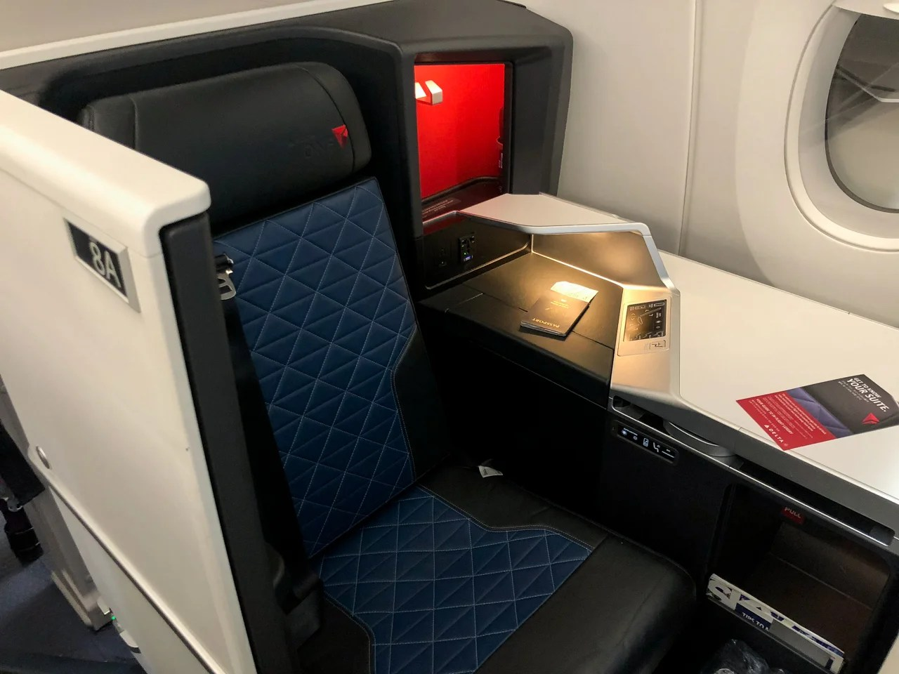 Review: Delta One Suites (A350) From Detroit to Seoul