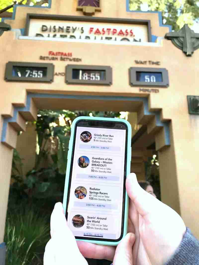 Disneyland Lines - Superior Return times with Maxpass
