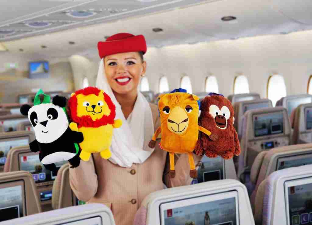 "The airline offers ""Fly With Me"" amenities just for kids."