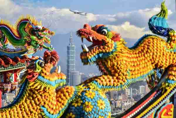 Taipei 101 is a landmark in Taiwan and the tallest building in Taiwan. Photo: Getty Images