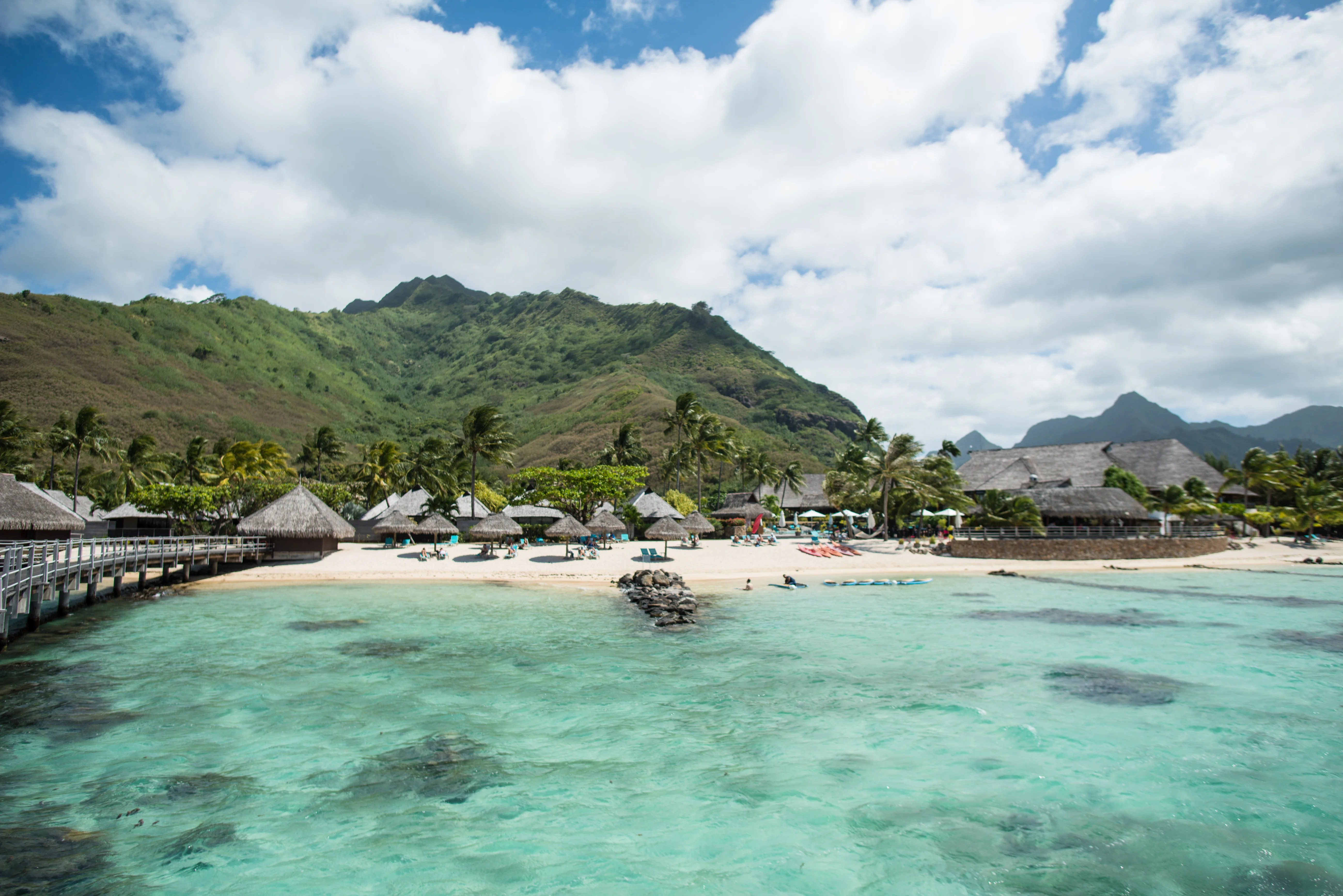 Paradise Perfected Hilton Moorea Lagoon Resort And Spa In