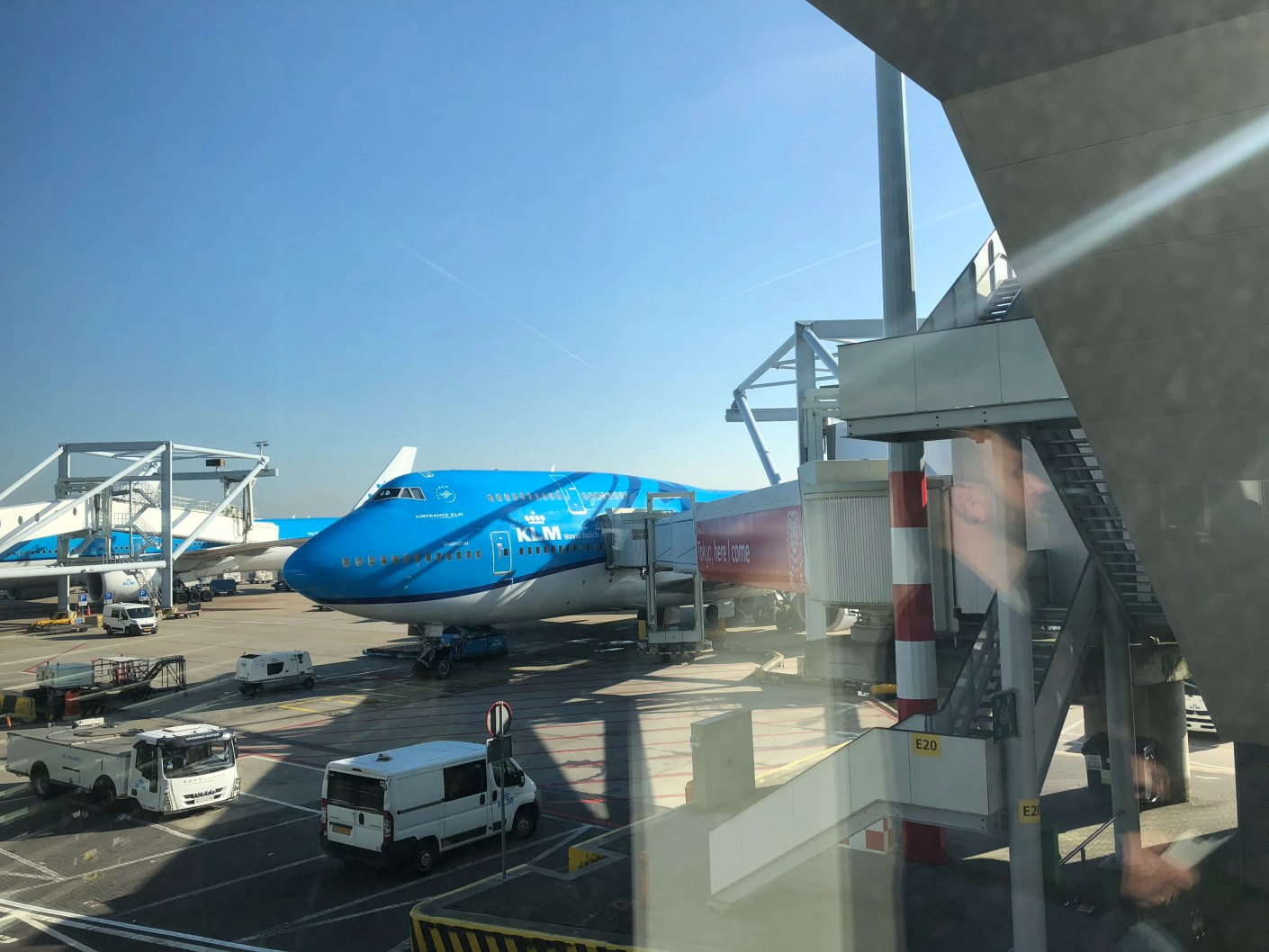 End of an Era: KLM (747-400) in Biz, Amsterdam to Chicago