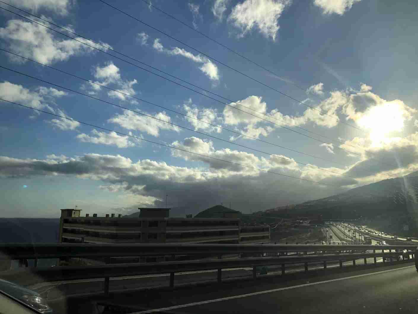 Views along the drive