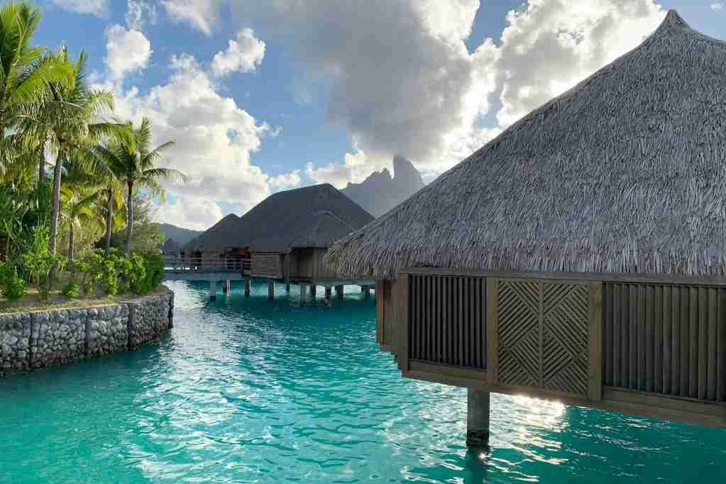 The St. Regis Bora Bora. Photo by Zach Honig / The Points Guy.