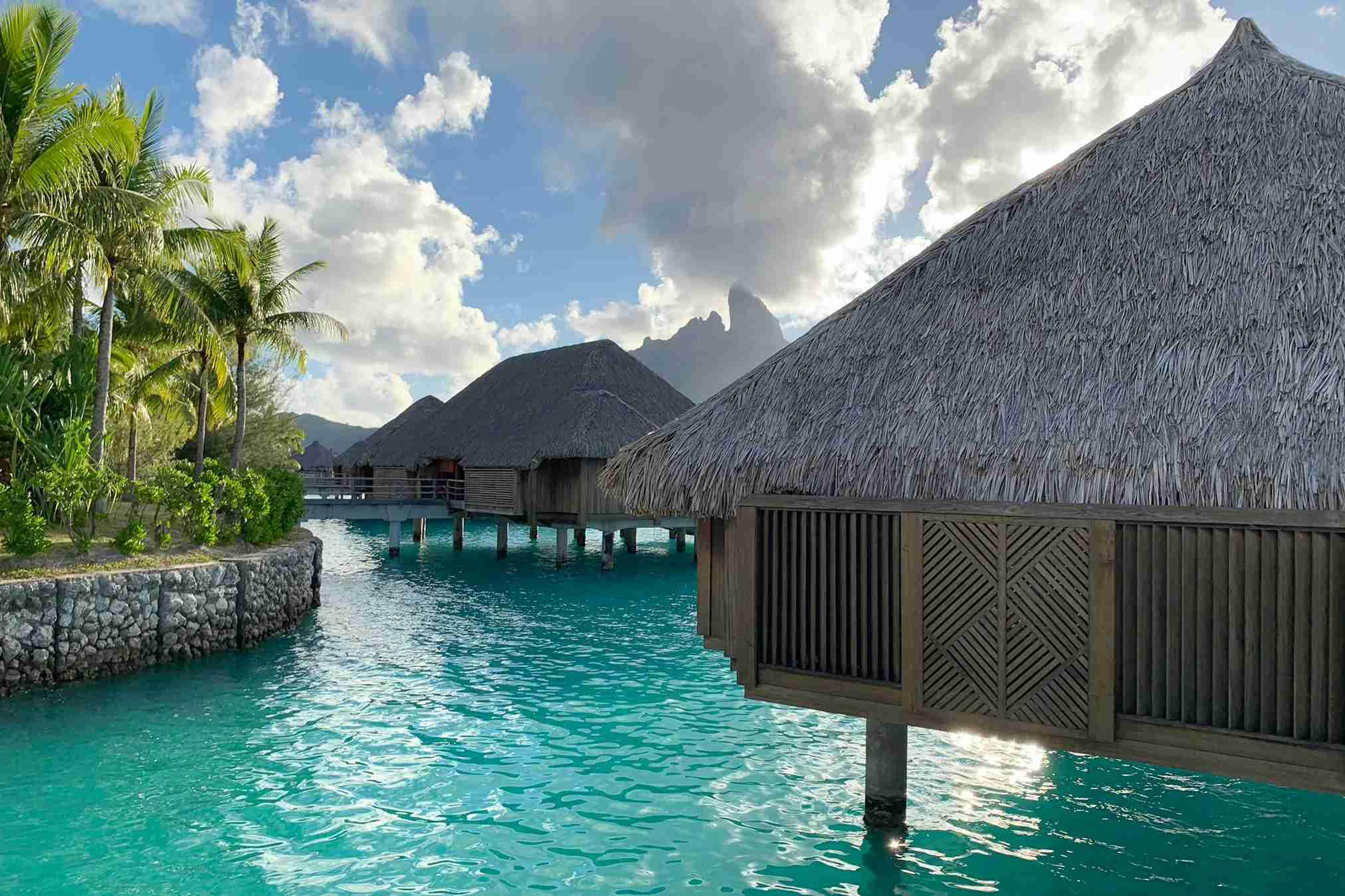 The St. Regis Bora Bora. Photo by Zach Honig / The Points Guy.