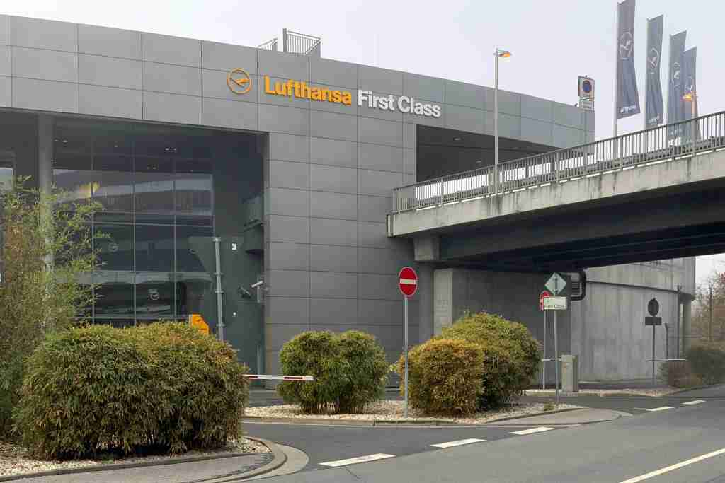 Lufthansa First Class Terminal (photo by Zach Honig / The Points Guy)