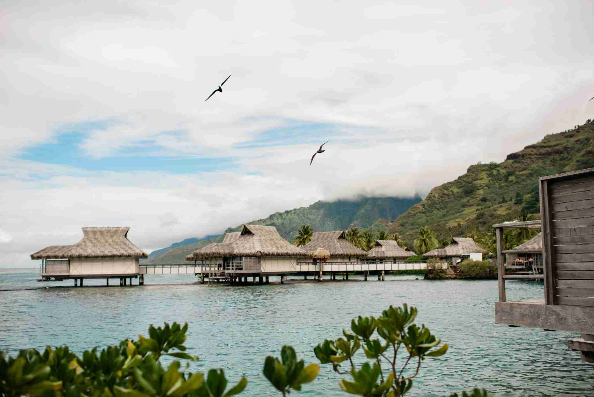 InterContinental Resort and Spa Moorea - overwater bungalows water