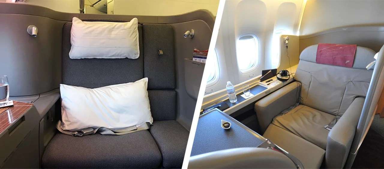 First Class Showdown: Cathay Pacific vs. Japan Airlines