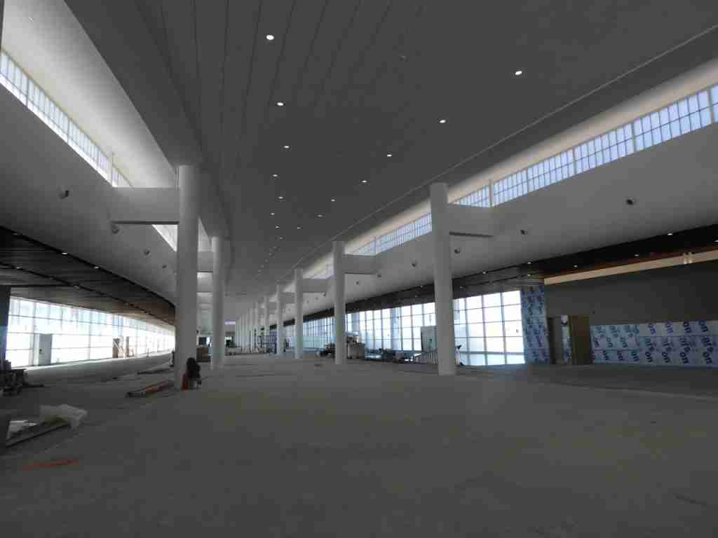 New Orleans Airport new terminal Concourse C in final stages of construction on November 21, 2018 - photo by Chris Sloan