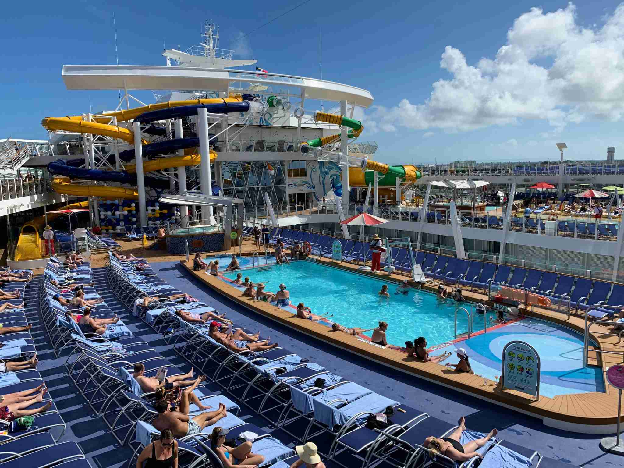 Royal Caribbean Symphony of the Seas - Pool Deck