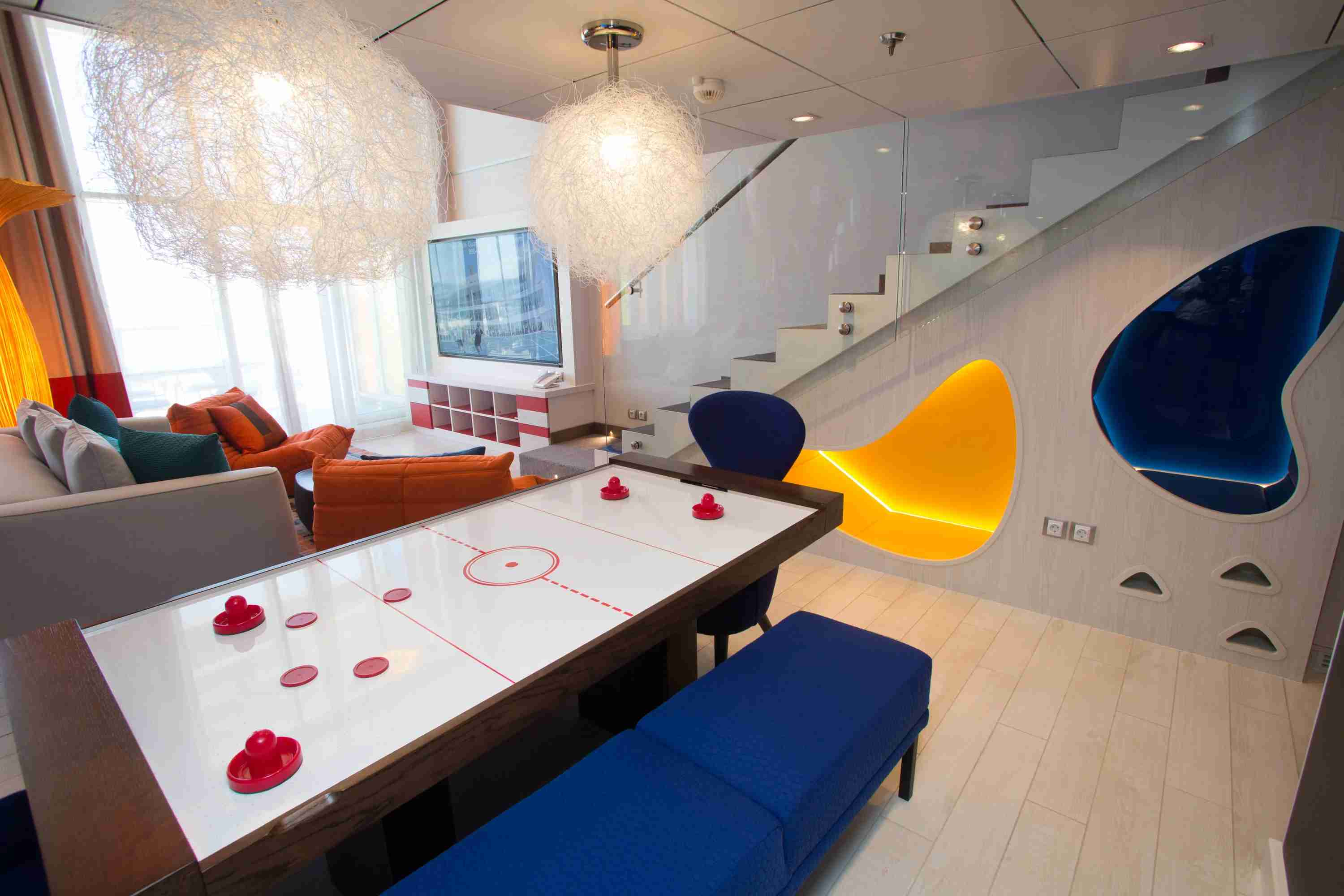 Royal Caribbean Symphony of the Seas - Ultimate Family Suite Air Hockey