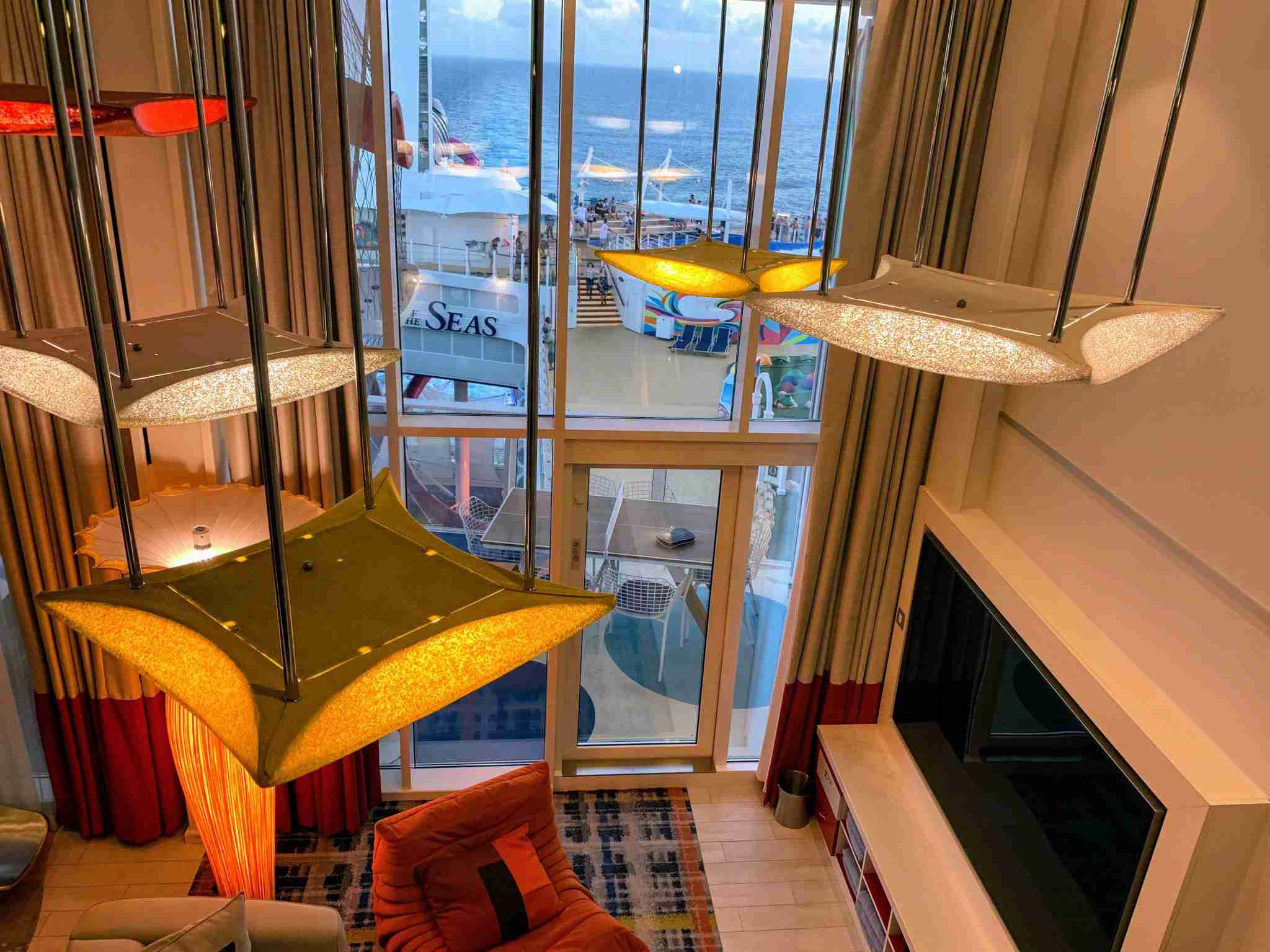 Royal Caribbean Symphony of the Seas - Ultimate Family Suite Balcony View