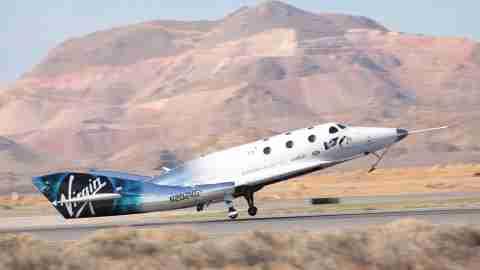 Virgin Galactic VSS Unity Test Flight