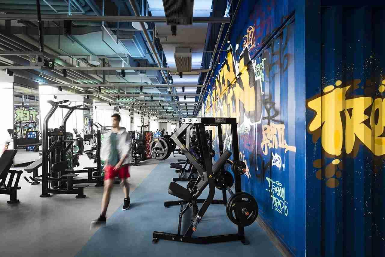 The gym at Hotel Jen Beijing. (Photo courtesy of Hoten Jen Beijing)