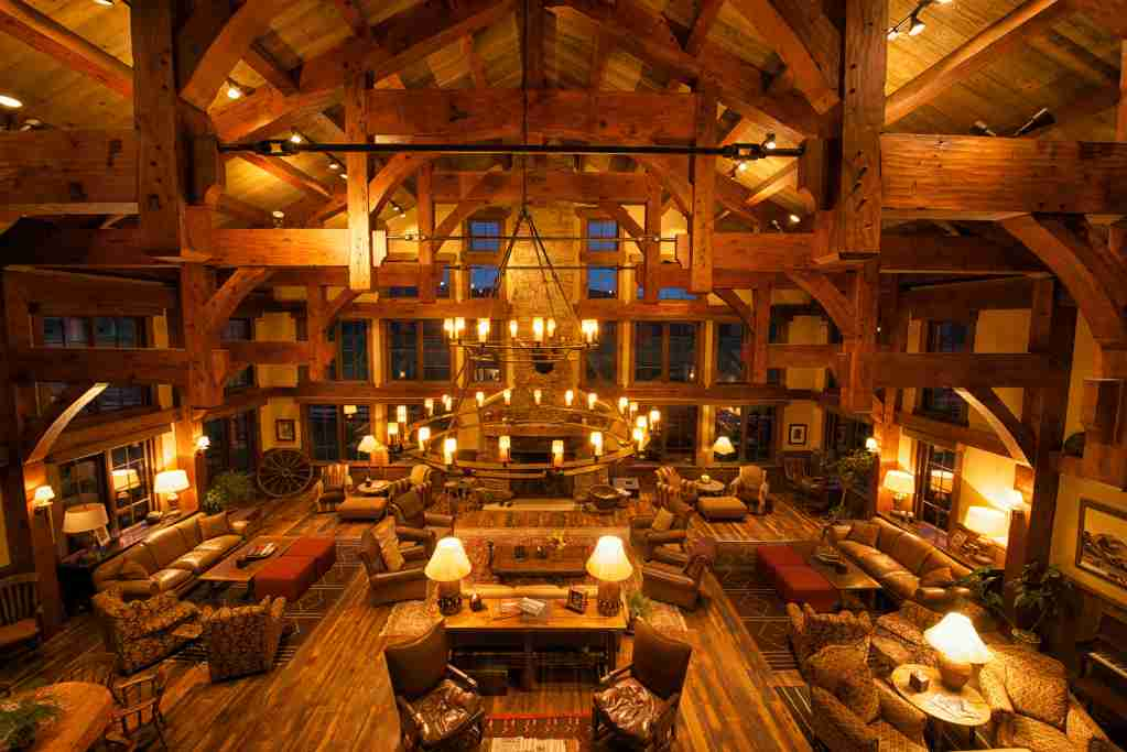 The main lodge at Vista Verde, perfect for fireside chats. Photo credit: Vista Verde.