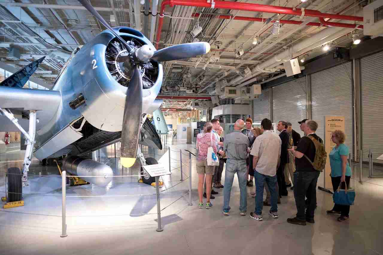 Photo courtesy of the Intrepid Air and Space Museum